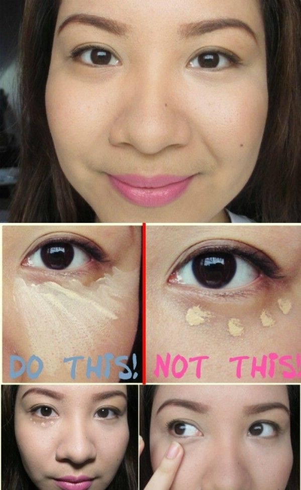 correct way to apply concealer