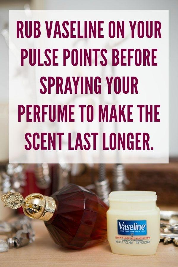 Make perfume last