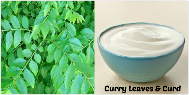 Curry Leaves & Curd