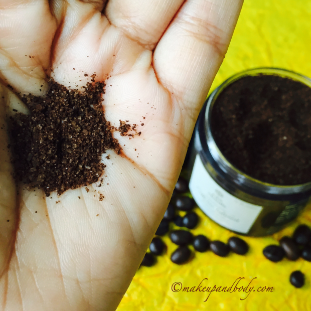 Raw Rituals Caffeine Infused Body Scrub - Review