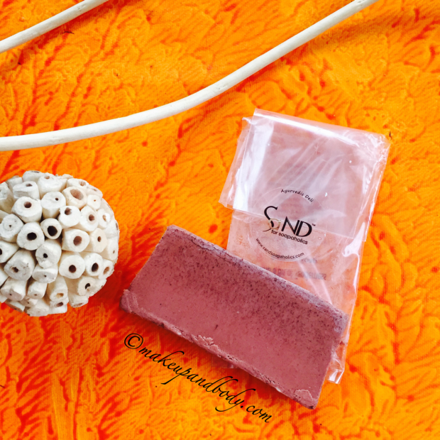 SaND for Soapaholics And a Bit of Tenderness Bath Soap