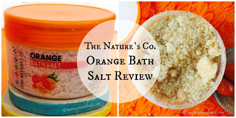 The Nature's Co. Orange Bath Salt Review