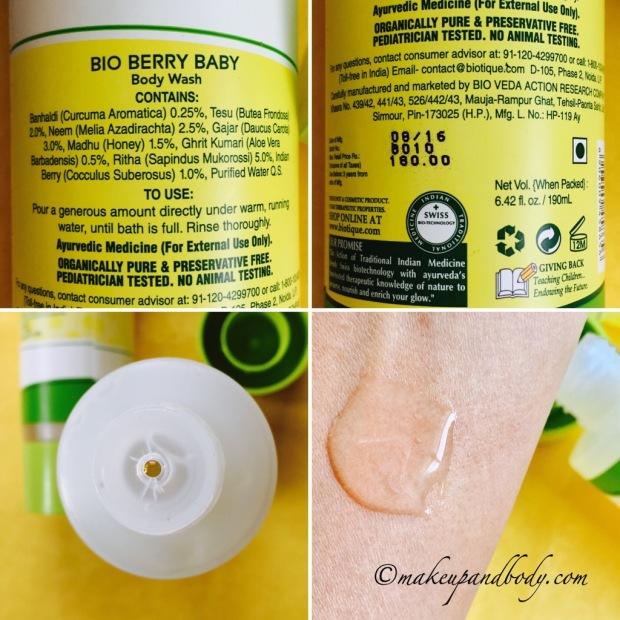 Baby Biotique Disney Mickey & Minnie Bio Berry Body Wash
