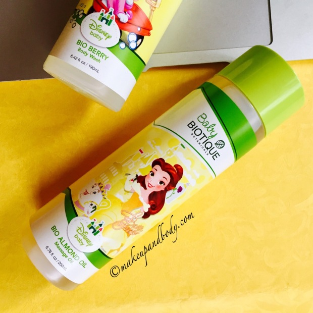 Review on Biotique's Baby Skin Care & Hair Care Products