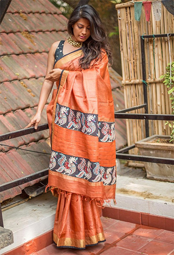 Best Sarees To Nail Down The Serious Look At Any Social Campaign