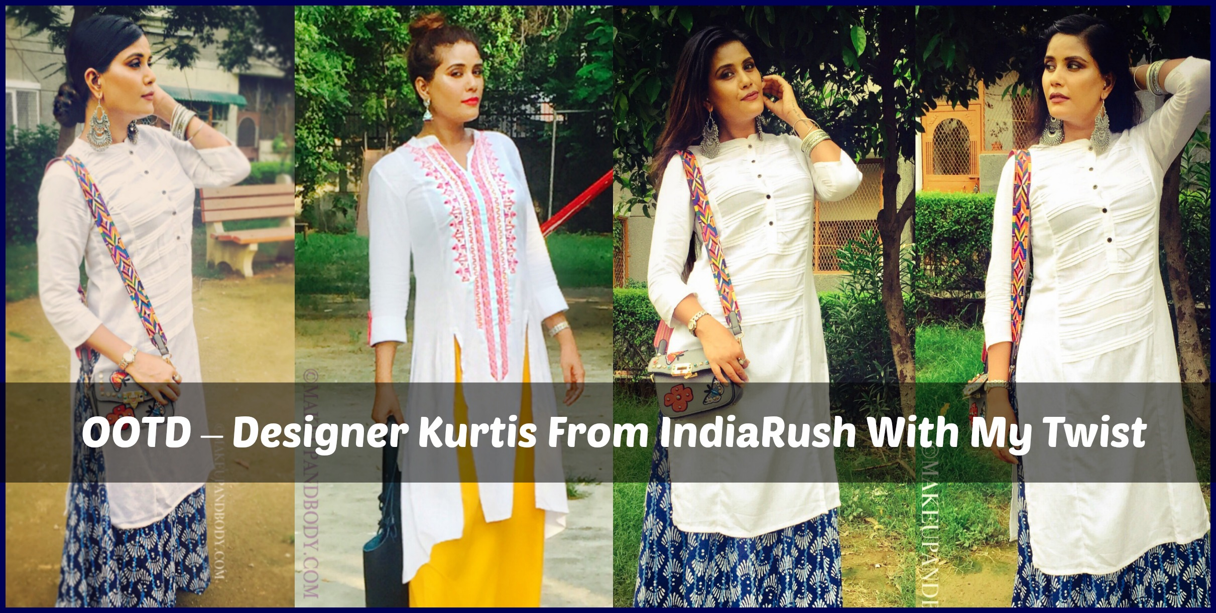 OOTD – Designer Kurtis From IndiaRush With My Twist