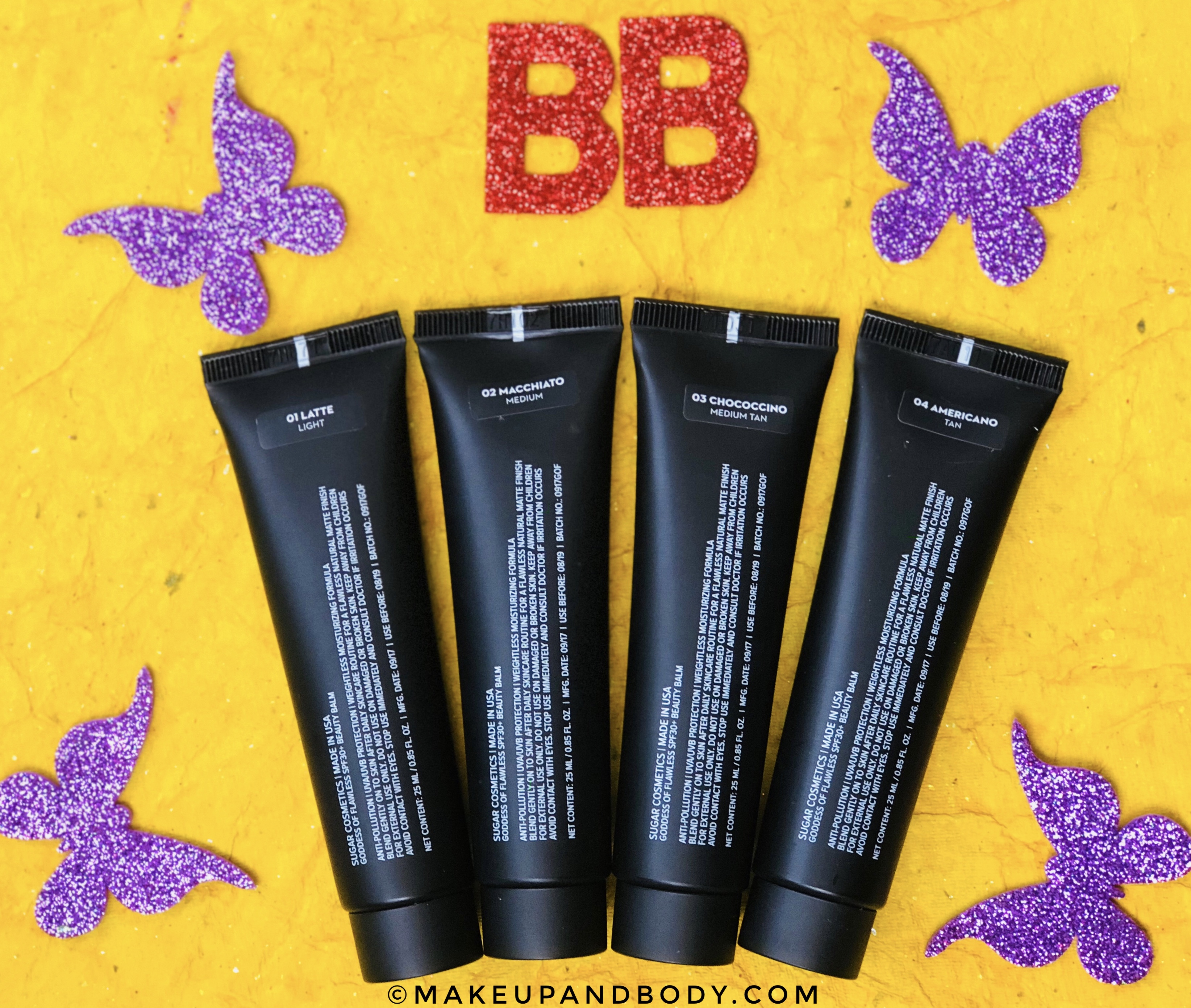 SUGAR Goddess Of Flawless SPF30+ BB Cream Review & Swatches