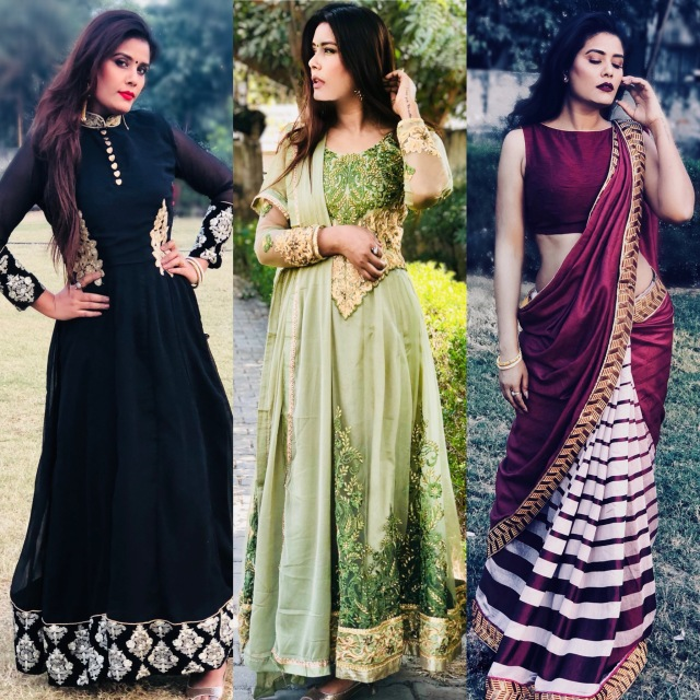 My favourite Ethnic Outfits from Peachmode.com